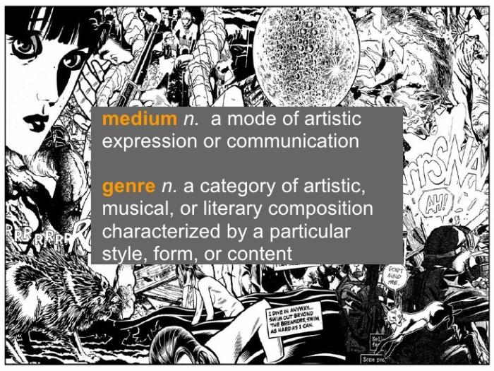 medium vs genre